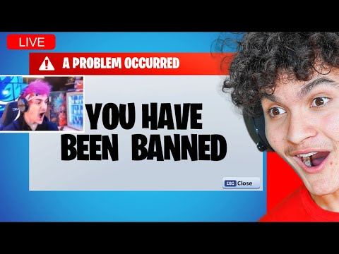 FaZe Jarvis Reacts to Streamers being BANNED on Fortnite
