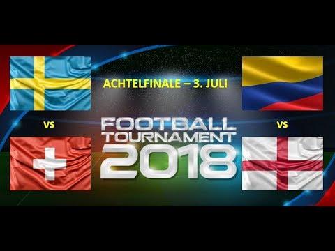 WM Tipps Achtelfinale #4 Prognose & Vorhersage: Kolumbien - England / Schweden - Schweiz