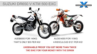 10. DR650 v KTM - THERE CAN ONLY BE ONE WINNER
