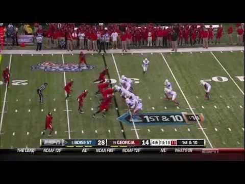 Boise State Offense (Doug Martin) vs Georgia 2011 video.