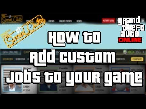 "GTA Online How to Download Content Created Jobs ""GTA Online"""