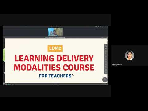 LDM2 - Learning Delivery Modalities Course 2 for Teachers (Simplehan natin!)