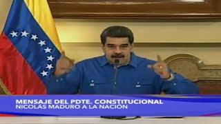 "Maduro da por derrotada la ""Escaramuza Golpista"""