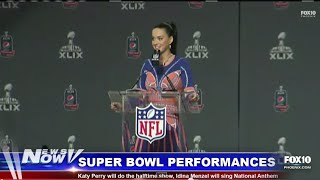 FOX 10 News Now - Katy Perry and Idina Menzel Talk About Super Bowl Performances