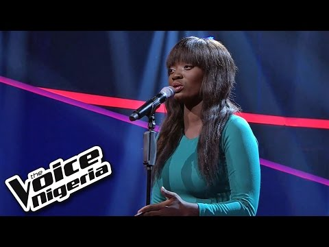 Kofo sings 'Titanium' / Blind Auditions / The Voice Nigeria 2016