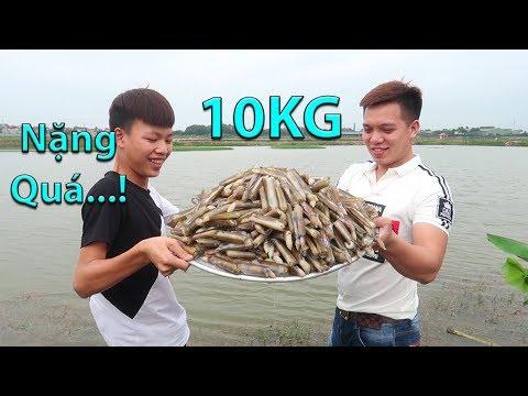 Hữu Bộ | Làm Mâm Ốc Móng Tay Xào Bơ Tỏi Khổng Lồ 10KG - Thời lượng: 16:03.