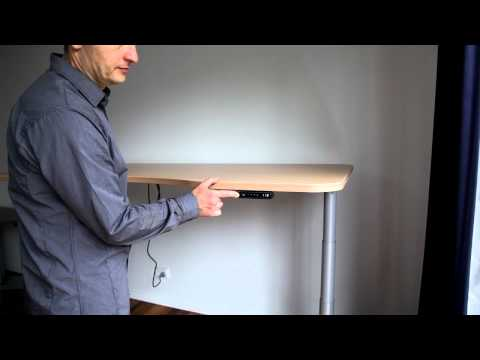 Ergomotion Height Adjustable Desks Model DL14