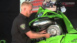 4. How to Change A Belt & Adjust Belt Deflection Arctic Cat M8