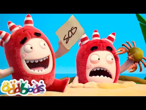 ODDBODS | Mayday! Mayday! | Cartoons For Kids