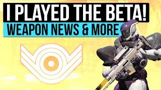 Destiny 2 News - Beta Loot System, Weapon Shaders, Intrinsic Perks Plus Mods, Armor Stats & Perks! Today I was one of the first people to play the D2 Beta. I learned a few things which I wanted to share, as well as a few impressions. Enjoy!▻ LATEST DESTINY 2 NEWShttps://www.youtube.com/playlist?list=PL7I7pUw5a282KrtVZEeCChYgyjsa3kd_2▻Use code 'Houndish' for 10% off KontrolFreek Productshttp://www.kontrolfreek.com?a_aid=Houndish▻SUBSCRIBE for more destiny videoshttps://www.youtube.com/subscription_center?add_user=Houndishgiggle1910▻SAVE 5% ON DESTINY 2 FOR PC https://uk.gamesplanet.com/game/destiny-2-battlenet-key--3314-1?ref=hound▻Say Hi on Twitterhttps://twitter.com/xHOUNDISHx- If you enjoy my content, consider checking out my Patreon page. You can support the channel and earn awesome rewards. I appreciate you all regardless :) https://www.patreon.com/Houndish- Music: Lensko - Circles & Veorra - Home