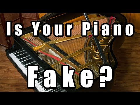 How can you tell if a piano is