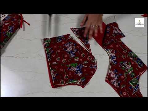 Princess Cut Blouse Cutting, Princess cut blouse Drafting, cutting and stitching Method
