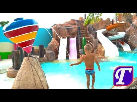 Отдых в Мексике Детские Развлечения Карибское Море Видео Для Детей День 1 Ч. 1 entertainment (видео)