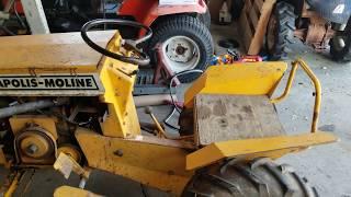 Minneapolis moline garden tractor