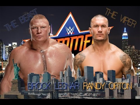 Brock Lesnar vs Randy Orton promo Summerslam 2016 HD