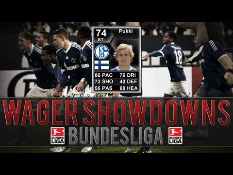 FIFA 13 Ultimate Team Wager Matches Bundesliga | 200k IF Pukki Wager! #2