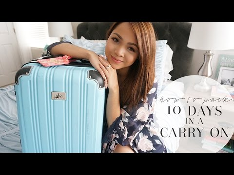How To Pack: 10 Days in a Carry On   March in Italy   Charmaine Dulak