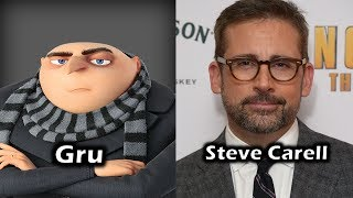 """The Voice Cast for Universal's & Illumination's """"Despicable Me"""" Do you recognize any voice actors? Where do your recognize them from? Who's your favorite character(s)? What's your favorite moment(s) In the film?For More Characters and Voice Actors - https://www.youtube.com/playlist?list=PLEX-pRIMnN4DcrKJhheGFbNko9FY8rjNY"""