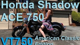 10. Project Motorcycle: 2002 Honda Shadow ACE 750 (VT750)