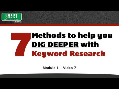 Keyword Research and Niche Selection – Pat Flynn