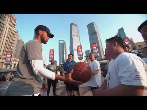 NBA CARES CLINIC WITH GOLDEN STATE WARRIORS @ NBA CHINA GAMES SHANGHAI