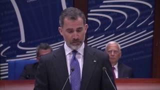 Palabras de S.M. el Rey ante el Plenario de la Asamblea Parlamentaria del Consejo de Europa