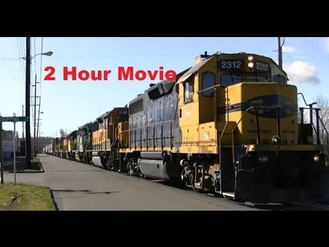 HD Freight Train Movie (over two hours)