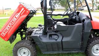 7. 2009 Honda Big Red side-by-side ATV