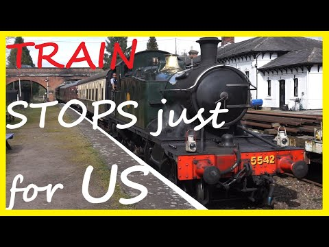 Steam Train Stops Just For Us - Episode 50