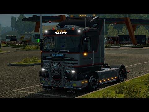 Scania 143m Patrick v.d. Hoeven 1.22