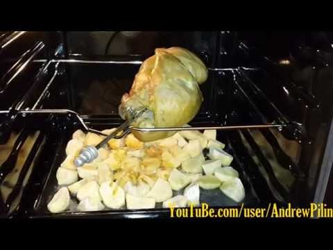 Курица гриль в газовой духовке рецепт
