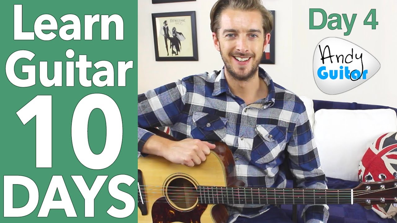 Guitar Lesson 4 – Your First Riff! [10 Day Guitar Starter Course]
