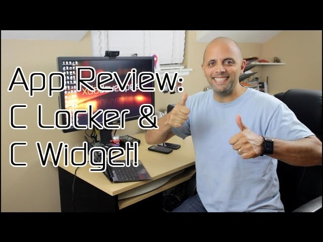 'C' the Difference with C Locker and C Widget -- Android App Review