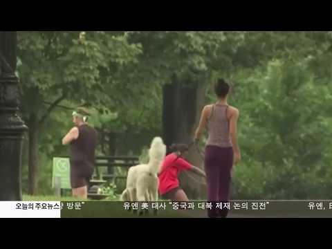 다람쥐에 5명 물려  바이러스 감염 '주의'  7.25.17 KBS America News