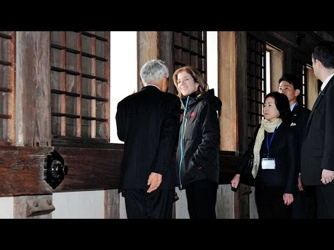 ケネディ駐日米大使が姫路城視察