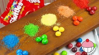 How To Make DIY SKITTLES Sprinkles! - YouTube