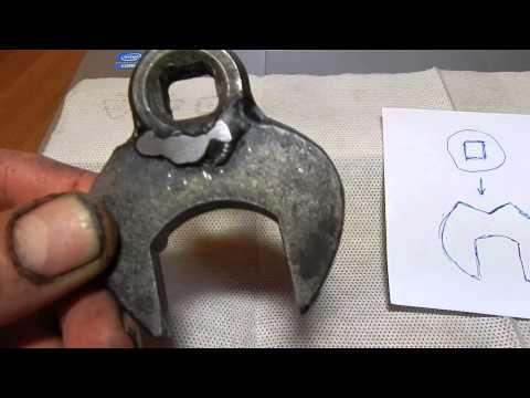 Съёмник для рулевых наконечников своими руками