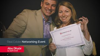 Abu Dhabi Networking Event held on 13 April 2016 in the Fairmont Bab Al Bahr