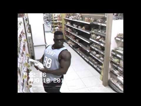 Kehonrakentajan posettelut tallentuivat kaupan valvontakameraan