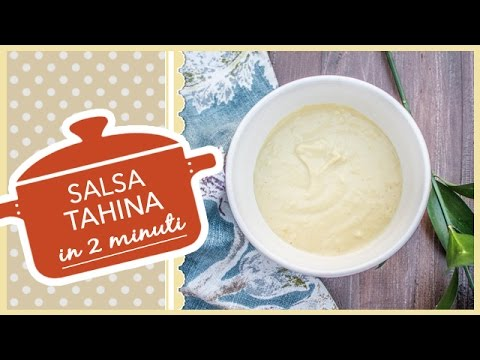 salsa tahina - ricetta