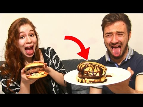 Video HAMBURGER XXL CHALLENGE en COUPLE !! Un BURGER POURRI A LA MORUE ! download in MP3, 3GP, MP4, WEBM, AVI, FLV January 2017