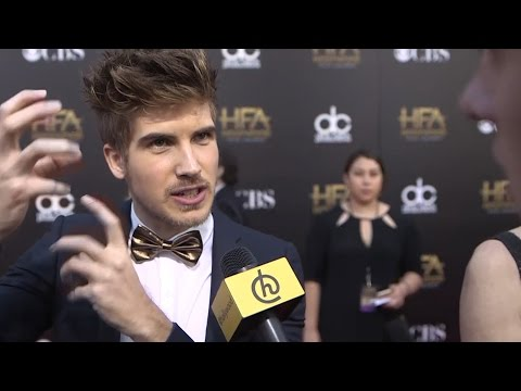 Joey Graceffa talks Super Powers at the Hollywood