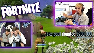 I DONATED $200K TO MY FAV TWITCH STREAMER (insane reaction)