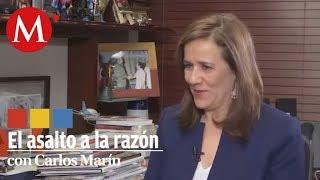 Video Margarita Zavala en El Asalto a la razón con Carlos Marín MP3, 3GP, MP4, WEBM, AVI, FLV Agustus 2018