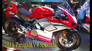 7. Ducati Panigale V4 Speciale, Panigale V4 S, 959 Panigale Corso, 2018 debut unveiling.