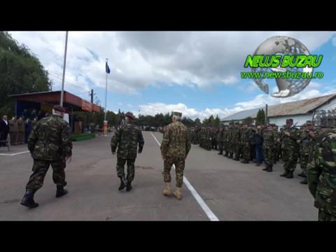 Schimbare comandant Getica Buzau