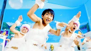 史上最速!?たった1分でカラダ丸洗い!子どもたちがキレキレ高速ダンス/クラシエナイーブピュア WEB動画1
