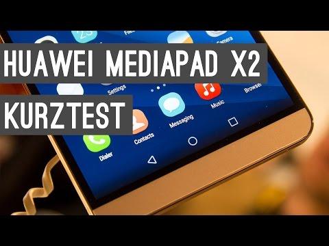 Huawei MediaPad X2 Kurztest + Hands On   Deutsch
