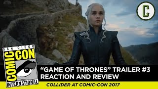 Dennis Tzeng and Ken Napzok from Collider Thrones Talk react and review to the brand-new trailer for the next two episodes of...