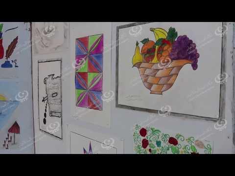 معرض لرسومات الأطفال للتعليم الأساسي بصبراتة